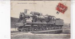 52 / DEPOT DE CHAUMONT / LE PONT TOURNANT / TRAIN /EST 3131 - Chaumont