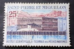 Amérique >St.Pierre Et Miquelon Poste   1958-1976 > Oblitérés>  N° 388 - St.Pierre Et Miquelon