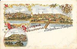Bulgarie Philippople (Plovdiv) - Souvenir De Philippople Couleur 1900 TB - Bulgarie