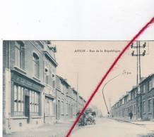 CP 62    AVION   -   Rue De La République - Avion