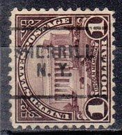 USA Precancel Vorausentwertung Preo, Locals New York, Sherrill 571-703 - United States