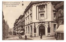67 BAS RHIN - STRASBOURG Agence Du Crédit Lyonnais, Rue De La Mésange - Strasbourg
