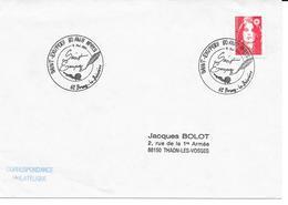 BUREAU TEMPOIRAIRE  -BRUAY LA BUSSIERE  SAINT EXUPERY  8 MAI 1994 - Bolli Commemorativi