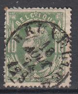 BELGIË - OBP - 1869/83 - Nr 30 - DCa (BRUXELLES) - Coba + 4 € - 1869-1883 Leopold II