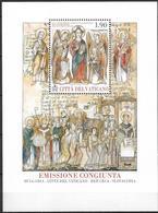 2013 Vatikan Mi.Bl. 42 **MNH   1150. Jahrestag Der Ankunft Von Kyrill Und Method In Großmähren. - Blocks & Kleinbögen