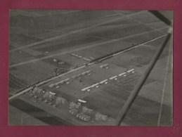 160420 - PHOTO ANCIENNE E BRUCHON 38 Quai St Vincent LYON - AVIATION Aérodrome Avion - Corbas ? Bron ? - Aviación