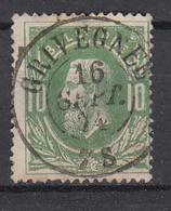 BELGIË - OBP - 1869/83 - Nr 30 - DCa (GRIVEGNEE) - Coba + 4 € - 1869-1883 Leopoldo II