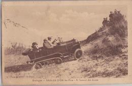 22 Sables-d'Or-les-Pins - A L'assaut Des Dunes Auto-chenille Citroën - France