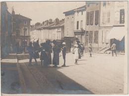 Wassy, Haute Marne, Sortie De La Messe Le 8 Juillet 1923 (3 Scans) - Orte