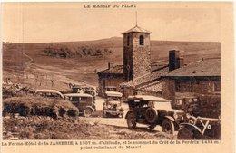 """MONT-PILAT """"La Ferme Hôtel  De La Jasserie """" - Mont Pilat"""