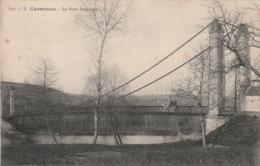 *** 46  ***  CARENNAC  Le Pont Suspendu - TB Neuve - Other Municipalities