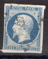 FRANCE ( POSTE ) S&M  N° 10  ,  TIMBRE  TRES  BIEN  OBLITERE , A  SAISIR . R 7 - 1852 Louis-Napoleon