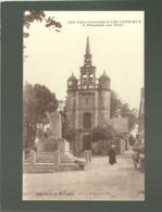 22 église Paroissiale De Lézardrieux Et Monument Aux Morts édit. Hamonic N° 7255 - Other Municipalities