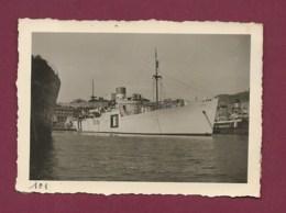 160420C - PHOTO MARINE BATEAU - ALGERIE ORAN Le Port Bateau à Vapeur Type Bananier KITA - Barcos