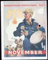 WW II Blatt : WHW HJ Hitlerjunge Mit Trommel , 1939 / 1940 . Selten ! - Duitsland