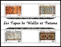 WALLIS ET FUTUNA 2001 - Yv. BF 10 **   Faciale= 3,02 EUR - Artisanat : Motifs De Tapas  ..Réf.W&F22607 - Blocks & Sheetlets