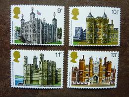 1978  British Architecture  SG = 1054 / 1057  ** MNH - 1952-.... (Elizabeth II)
