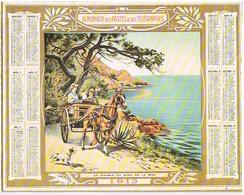 Calendrier Almanach  1913 Carton - Grand Format : 1901-20