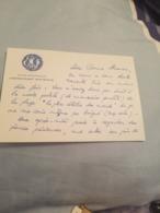 MARINE NATIONALE CARTON AVISO ESCORTEUR COMMANDANT BOURDAIS - Documents