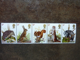 1977  British Wildlife   SG = 1039 / 1043   **  MNH - 1952-.... (Elizabeth II)