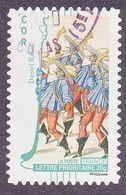 394 France 2010 Oblitéré Autoadhésif  Art La Musique Cor  Daniel Rabel - Adhésifs (autocollants)