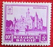 10c+5c Kastelen Tuberculose Châteaux Bornhem 1930 OBP 308 (Mi 291) POSTFRIS/ MNH**BELGIE BELGIUM - Unused Stamps