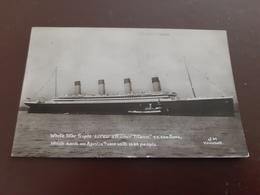 White Star Triple Screw Steamer Titanic - Passagiersschepen