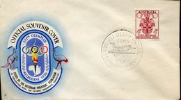 53354 Australia, Special Postmark 1956 Melbourne Olympiade,stadium,High Jump,Saut En Hauteur,Hochsprung - Sommer 1956: Melbourne