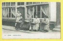 * Ieper - Ypres - Yper * (Phot H. Bertels, Nr 12) Dentellières, Lace Makers, Kantwerksters, Café, Animée, Unique, TOP - Ieper