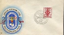 53355 Australia, Special Postmark 1956 Melbourne Olympiade,richmond Park,Hurdling,Course De Haies,Hürdenlauf - Sommer 1956: Melbourne