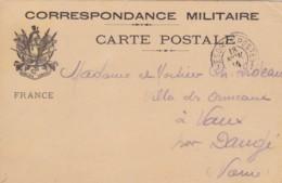 Correspondance Militaire . - Franchise Militaire (timbres)