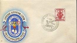 53356 Australia, Special Postmark 1956 Melbourne Olympiade,mobile Office,Artistic Gymnastics,Gymnastique Artistique - Sommer 1956: Melbourne
