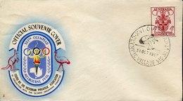 53357 Australia, Special Postmark 1956 Melbourne Olympiade,olympic Village,Long Jump,saut En Longueur,Weitsprung - Sommer 1956: Melbourne