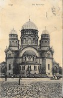 Lettonie Riga - La Cathédrale église 1903 TB - Letland