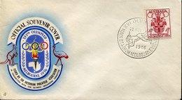 53358 Australia, Special Postmark 1956 Melbourne Olympiade,main Stadium,Pole Vaulting,Saut à La Perche,Stabhochsprung - Sommer 1956: Melbourne