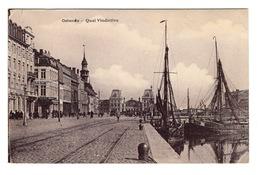 BELGIQUE - OSTENDE Quai Vindictive - Oostende