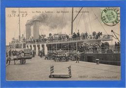 BELGIQUE - OSTENDE La Malle à Turbines, Jan Breydel, L'embarcadère (voir Descriptif) - Oostende