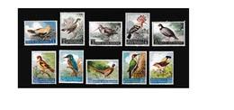 G401. San Marino / 1960 / Birds / Aves / Oiseaux - Sperlingsvögel & Singvögel