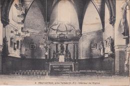 Pouyastruc - Intérieur De L'Eglise - Encre De La Correspondance Effacée - Pouyastruc