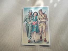 Seconda Guerra Mondiale Cartolina Postale In Franchigia Per Le Forze Armate - Italie