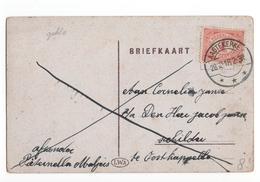 Aagtekerke Langebalk - 1918 - Poststempel