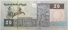 Égypte - 20 Pounds - 2003 - PICK 65d - NEUF - Egipto