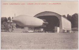 """29343g  ZEPPELIN -  DIRIGEABLE - """"Ville De Lucerne I"""" - Dirigeables"""