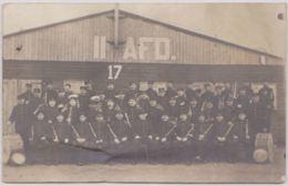 """29385g  CAMP DE ZEIST  """"II AFD. 17"""" -  1916 - Carte Photo - Guerre 1914-18"""