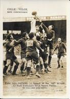 Parc Des Princes  10 Mai 1947  Rugby Toulouse Bat Pau - Rugby