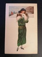 Illustrateur. Italien. Venezia. Femme. Non Voyagée. - Illustrators & Photographers
