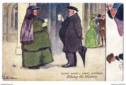 Saint Anne & Saint Anthony. Taking The Waters. Illustratori Inglesi - 1912. - Illustrators & Photographers