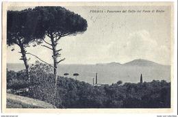 Formia (Latina) - Panorama Del Golfo Dal Ponte Di Rialto - 1924. - Latina