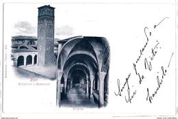 Rieti - Cattedrale E Campanile - 1903. - Rieti