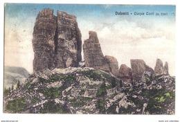 Dolomiti (Belluno) - Cinque Torri (m. 2362) - 1917. - Belluno